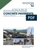 113 - Sustainable Concrete Pavement