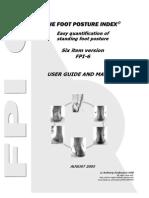 Foot Posture Index