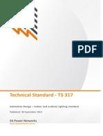 Substation Design Indoor and Outdoor Lighting Standard