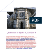 Architecture as Riddles in Stone Part 3