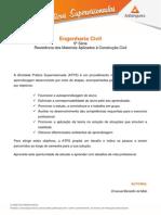 ATPS - Resistencia Mat Aplicada Construcao Civil