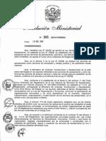 Rm-365-2014-Vivienda - Conformacion de Jass - Mvsc