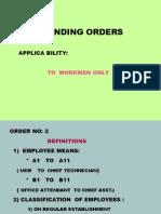 Stnding Orders
