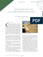 Sistemas Romanos de Abastecimiento de Agua