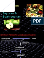 Raw Material of Vegetables and Fruits
