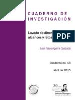 Lavado de Dinero en México Alcances y Retos Pendientes 2015