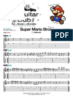 Super Mario (Melody) the Guitar Club Ltd (London UK) Theguitarclub@Hotmail.co.Uk