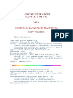 Vita Petrarca Iannozzo Manetto