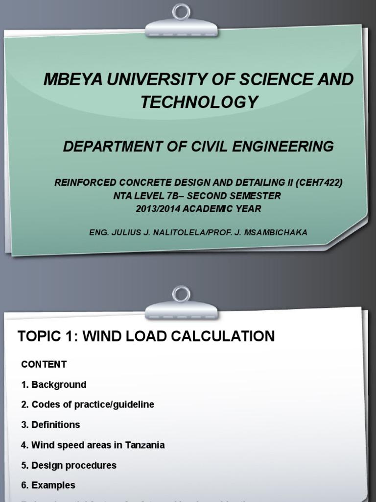 wind load calculation | Wound | Wind Speed