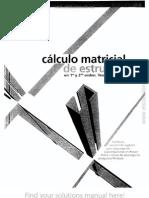 Cálculo Matricial de Estructuras en Primer y Segundo Orden - Ramon Agüelles - 1ed