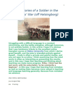 Real Life Stories of a Soldier in the Seven Years' War (off Helsingborg)