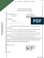 Grisman et al v. YouTube, Inc. et al - Document No. 5