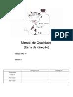 Manual de Qualidade