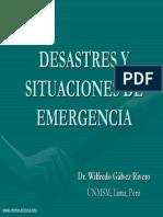Desastres y Situaciones de Emergencia Presentacion