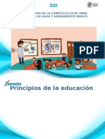 Plan Curricular Medio Ambiente