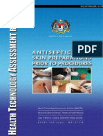 Antiseptics for Skin Preparations