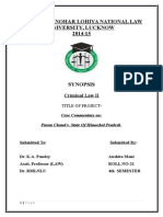 Puran Chand v. state of Himachal Pradesh-Case Anaysis.docx