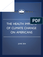 The Health Impacts of Climate Change on Americans Final
