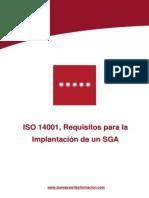 ISO 14001, requisitos para la implantacion de un SGA  100.pdf