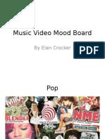Media - Music Video Mood Board