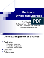 3-Footnote-styles and exercise.ppt