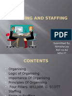 Organising and Staffing