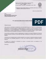 Carta Ampliacion de Pasantia