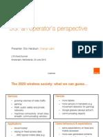 5G an Operators Perspective Eric Hardouin LTEWS 250613