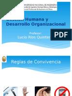 Modulo 1. Gestión Humana y Desarrollo Organizacional.