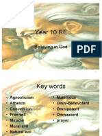 Year 10 RE Belief in God edexcel unit 3