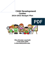 budget plan project