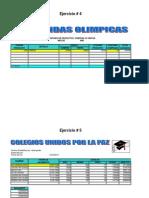 Taller de Excel Ejercicios Del 4 Al 6