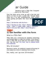 Apresentação para o TED