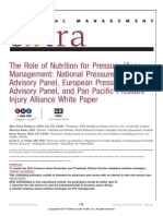 The Role of Nutrition for Pressure Ulcer.7