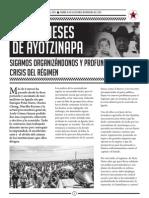 A Seis Meses de Ayotzinapa_Abril 2015