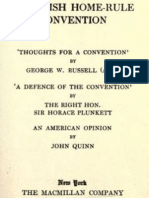 The Irish Home-rule Convention - By George W. Russell and Sir Horace Plunkett and John Quinn