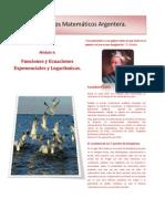 Modulo 6. Funciones Exponenciales y Logaritmicas 24 04 12