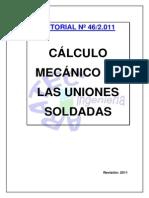 Calculo Mecanico de Uniones Soldadas