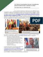 Synthèse Conférence Internationale Sur Le Budget Participatif de Tunis