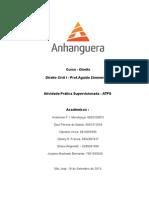 ATPS de Direito Civil 2013