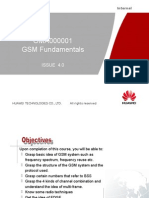 Fundamentals of GSM (2G)