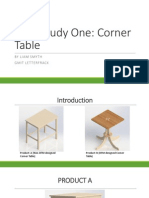 case study one - corner table