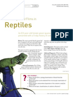Blood Film en Reptiles