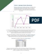 Agregar Lineas Horizontales Grafico Excel