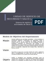 unidad de servicio de seguridad laboral