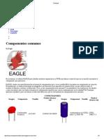 Componentes no Cad EAGLE
