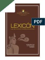 Libro Lexicon Ley Control Constitucional Local