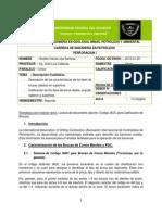 Deber de Código IADC Calificación de Brocas
