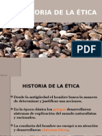 Historia de La Etica