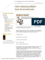 PROF Hugo Magalhães - Regência Verbal